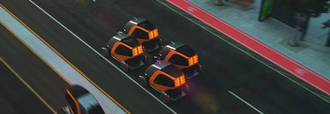 Continental envisions swarms of autonomous electric BEEs as public transport