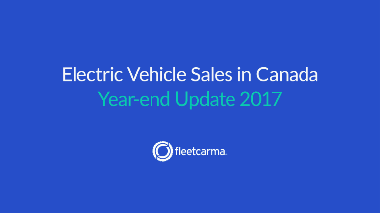 Electric Vehicle Sales In Canada, 2017