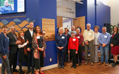 The Nicholas Sonntag Marine Education Centre Opens